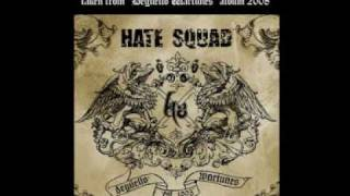 HATE SQUAD - Rise Up (Degüello Wartunes  - album 2008)