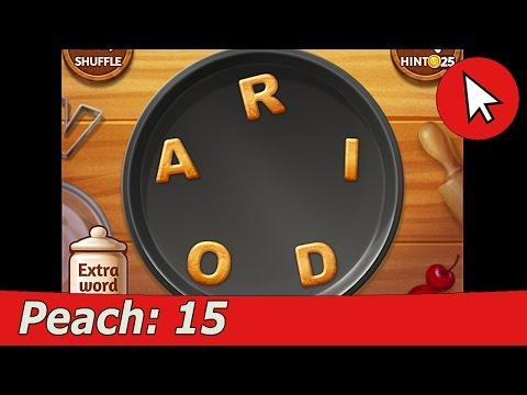 Word Cookies Peach 15 Answers Guide