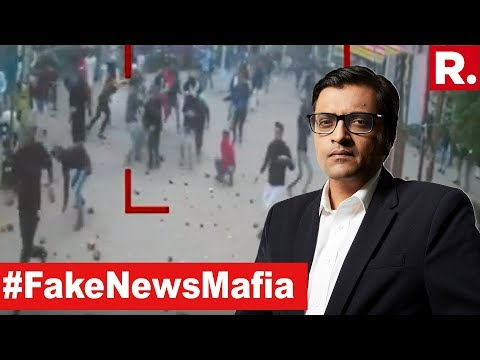 Republic TV EXPOSES #FakeNewsMafia | The Debate With Arnab Goswami