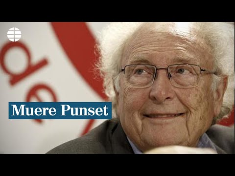 Muere Eduard Punset