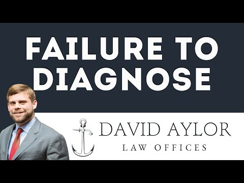Is a Failure to Diagnose Considered Medical Malpractice? | Charleston Attorney David Aylor