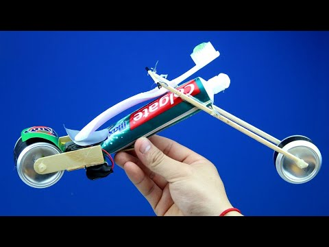 Wow! Incredible Toothpaste Motorcycle - How to Make an Electric Motorcycle Battery