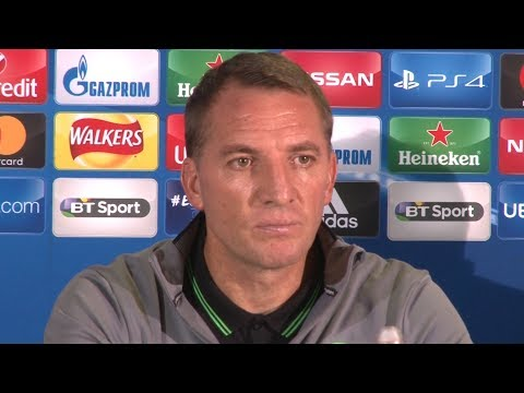 Brendan Rogers Full Pre-Match Press Conference - Celtic v Paris Saint Germain - Champions League
