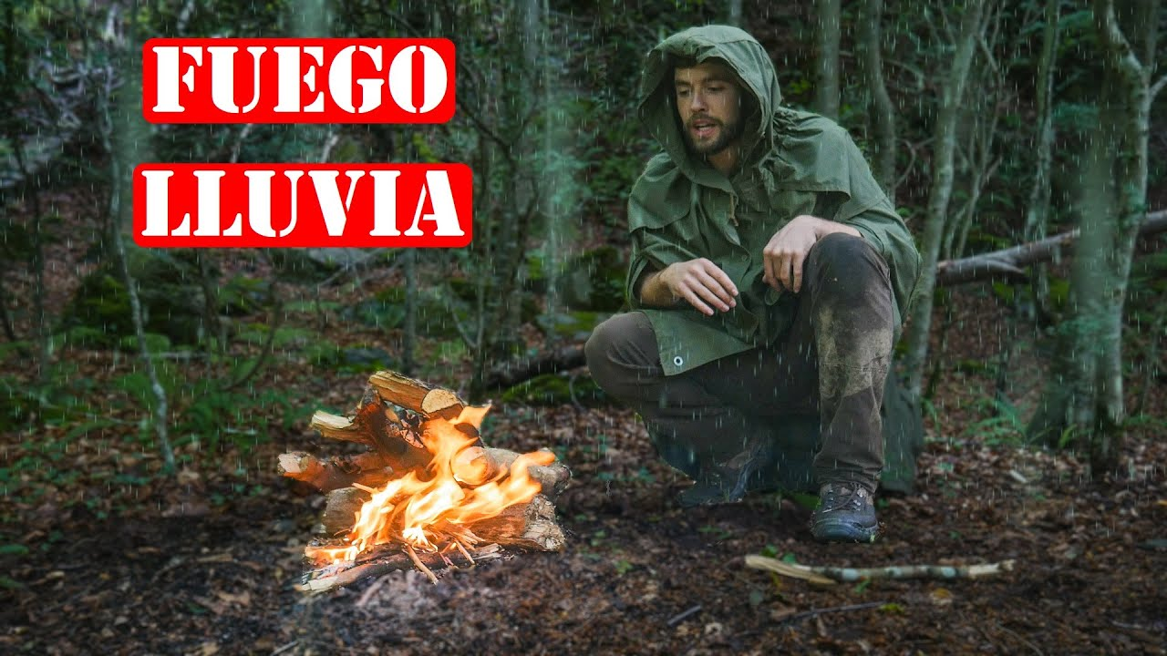 Hacer Fuego Bajo La Lluvia - Técnica De Supervivencia Rusa