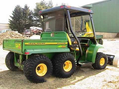 john deere gator 6x4 photos youtube. Black Bedroom Furniture Sets. Home Design Ideas