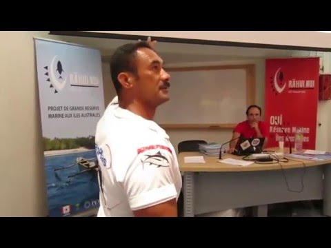 Conférence Rahui Nui - Edmond Flores