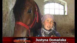 Justyna Domańska - trener koni na WTWK Partynice