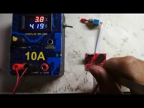 Uji Coba PSR 10A with short circuit protection