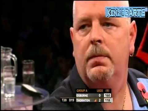 Grand Slam Of Darts 2010 - Group A - 1st Matches - Osborne vs Thornton