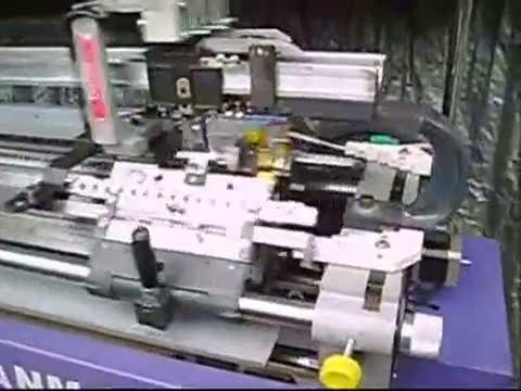 Flat Knitting Machine Youtube