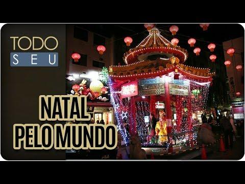 Comemorações De Natal Pelo Mundo - Todo Seu (04/12/17)