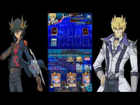 Repeat Yu-Gi-Oh! Duel Links Part 79 5D's Missions Stage 9