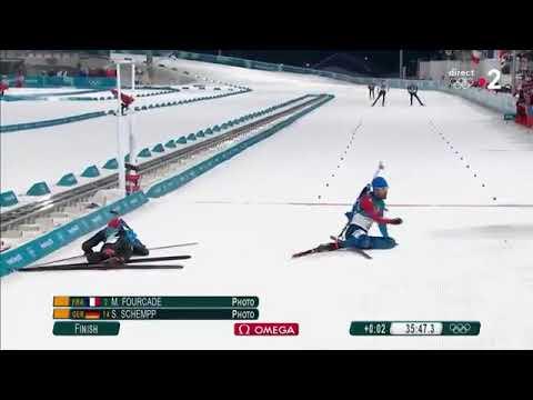 Incroyable Finish de Martin Fourcade lors des Jeux 2018