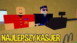 THE BEST CASHIER IN BLOXBURG! | Let's play Roblox in Polish