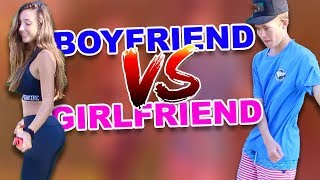 DANCE BATTLE - (Boyfriend VS Girlfriend)