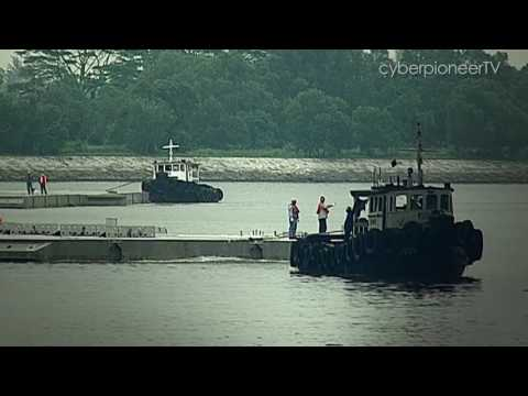 Engineering Our Defence - Making a Difference to Our Nation: Marina Bay Floating Platform