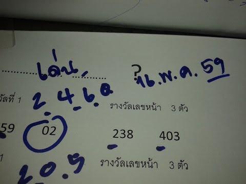 เลขเด็ด 16/5/59 หาเลขเด่นจากหลักร้อย รางวัลเลขท้าย 3 ตัว และเลขหน้า 3 ตัว รีบเปิดดูก่อนใคร