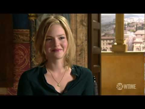 The Borgias Season 3: Hanging with Holliday Grainger