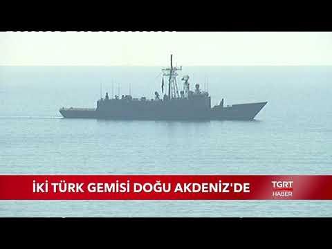 İki Türk Gemisi Akdeniz'de Petrol Arıyor