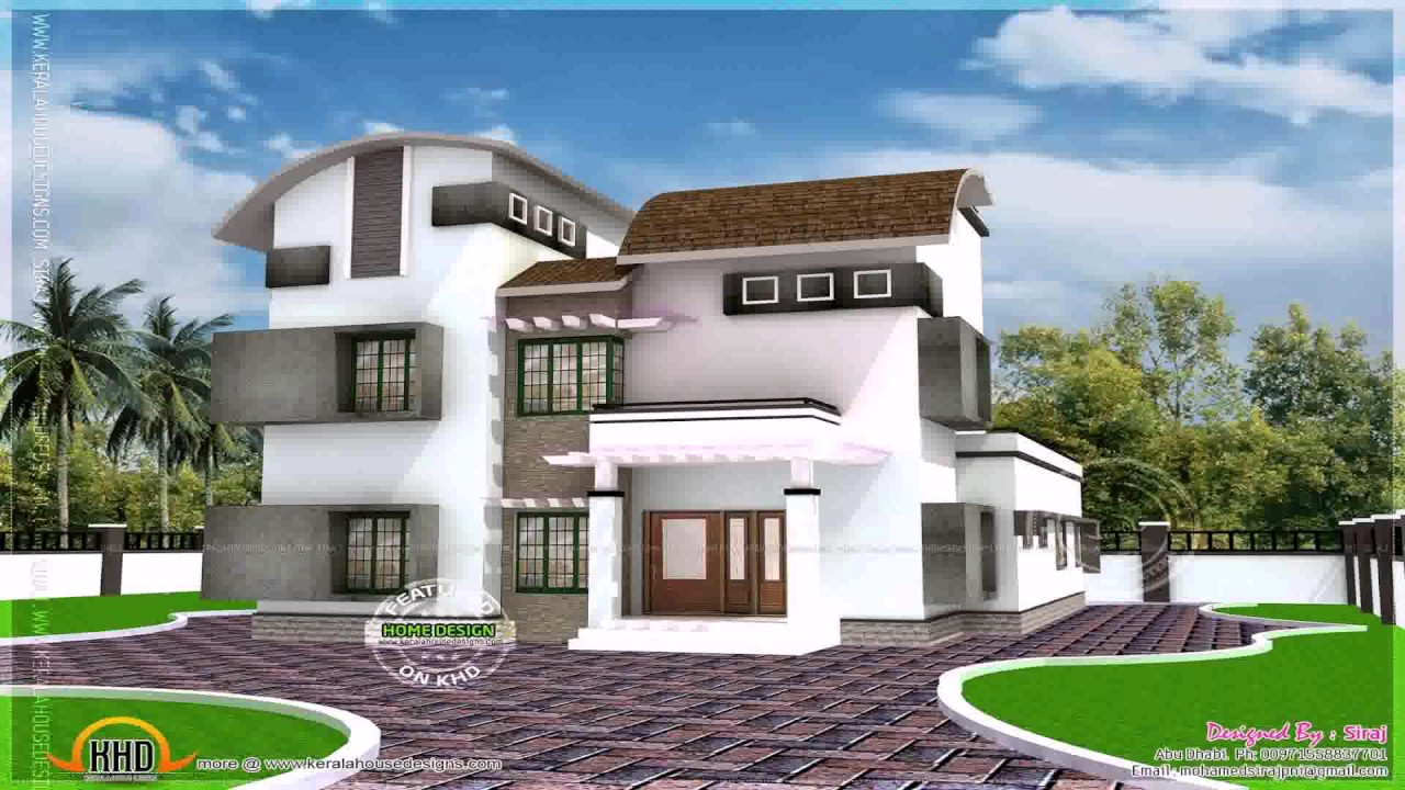 House plans 2200 to 2400 sq ft youtube for Latest kothi designs exterior