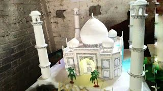 How to make Taj Mahal with Thermocol | TajMahal |