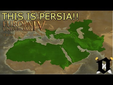 EU4: Cradle of Civilization Timelapse- Mazandaran into Persia