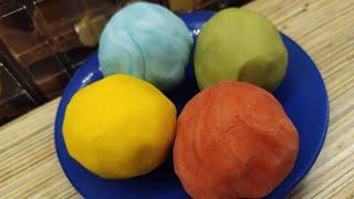 Play-doh или масса для лепки своими руками!