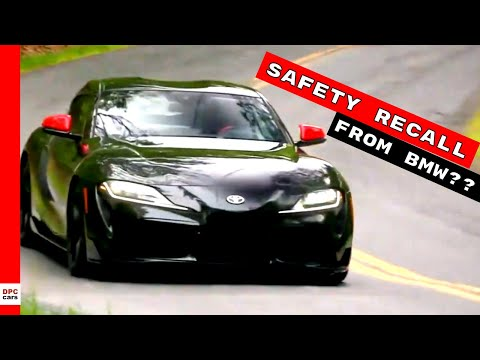 2020 Toyota Supra Safety Recall Issued From BMW