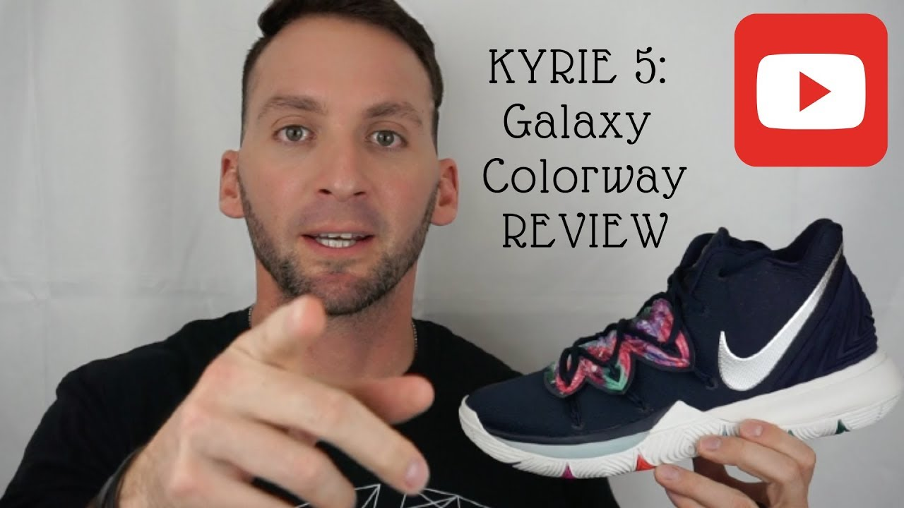 41c077912b13 Kyrie 5 MultiColor REVIEW - YouTube
