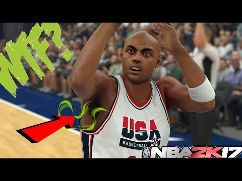 CHARLES BARKLEY SMELLS LIKE ASS CHEEKS & MONKEY PAMPERS!!!!!!! (NBA2K17)