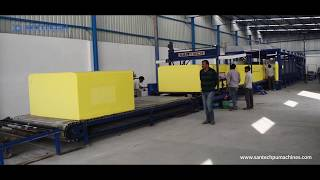 Santech Industries - Foaming and Cutting Machines Production Facility