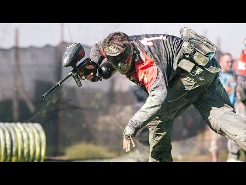World Cup Practice - RAW pro paintball footage Impact vs Ironmen