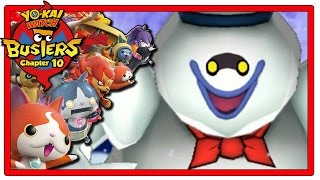 YoKai Watch Busters  Part 10 | Chapter 10 + Giveaway! [Red Cat Team Gameplay Walkthrough]