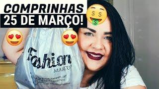 COMPRINHAS VIP E FASHION MAKEUP | 25 DE MARÇO!♥