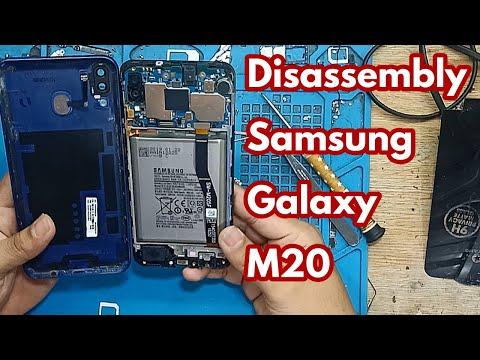 Cara Bongkar Samsung Galaxy M20 II Disassembly Samsung Galaxy M20