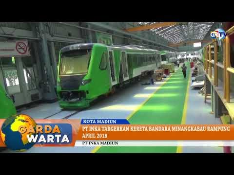 PT INKA Targetkan Kereta Bandara Minangkabau Rampung April 2018
