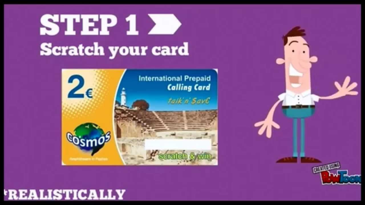 cheap international prepaid calling cards how to use video - Prepaid Calling Cards