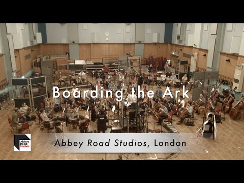 Abbey Road Studio Recording Session - Boarding the Ark w/short movie