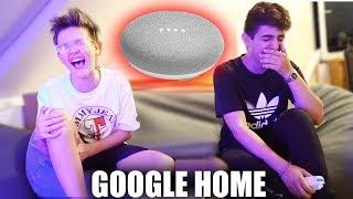 FLACHWITZ Challenge mit dem Google Home Assistant!