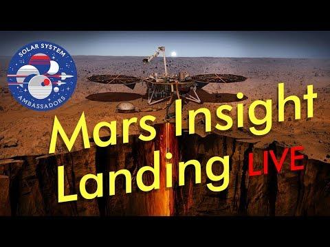 Live Streaming NASA's Mars Insight Lander!! Solar System Ambassador Stream