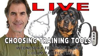 LIVE Choosing Training Tools
