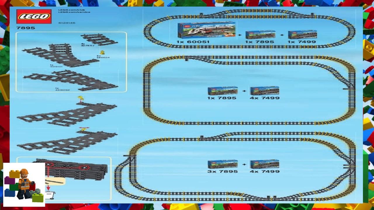 LEGO instructions - City - Trains - 7895 - Switching Tracks