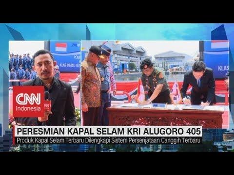 Cetak Sejarah Baru! Kapal Selam KRI Alugoro 405 Karya Anak Bangsa Resmi Diluncurkan