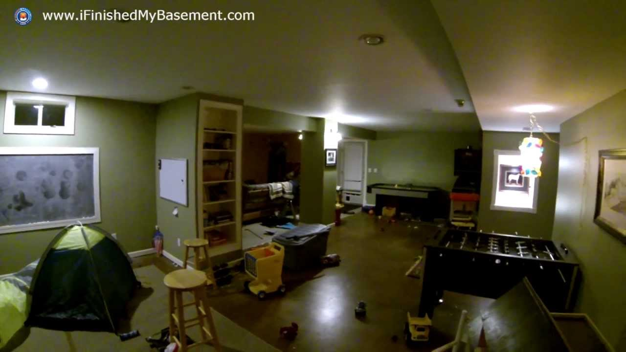 How many recessed lights do you need for your finished basement how many recessed lights do you need for your finished basement youtube mozeypictures Choice Image