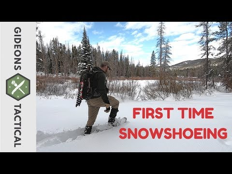 First Time Snowshoeing/What To Expect