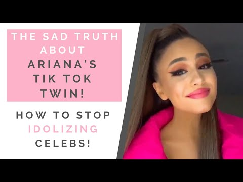 THE TRUTH ABOUT ARIANA GRANDE'S TIK TOK TWIN: How To Stop A Celebrity Obsession | Shallon Lester