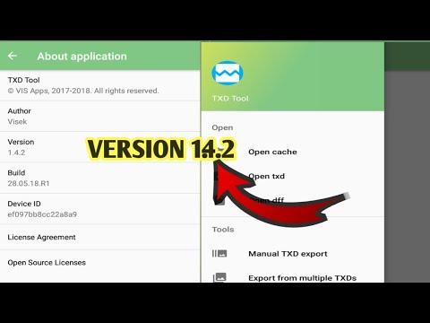 txd tool latest version 1 4 2 apk download 2019