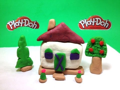 Play Doh Houses