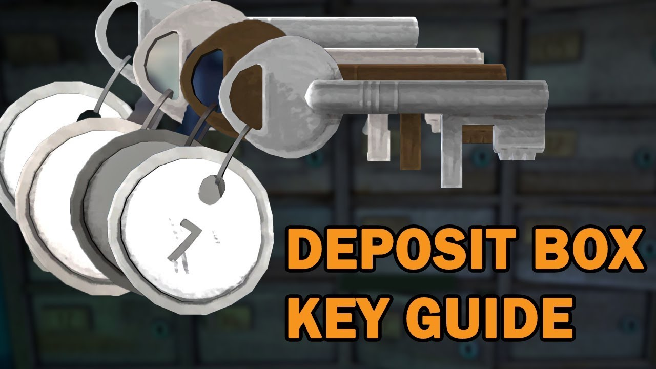 Milton Bank Deposit Box Keys Walkthrough Guide The Long Dark