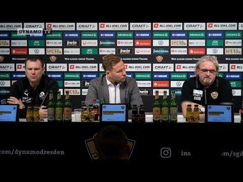 16. Spieltag | SGD - SVS | Pressekonferernz nach dem Spiel